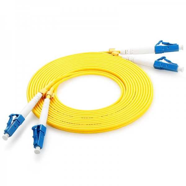 LC_PC-LC_PC Duplex SM OS1 YELLOW 20m LSZH