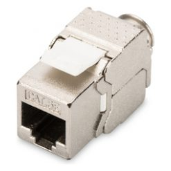 DIGITUS CAT 5e class D keystone module, shielded