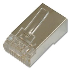 DIGITUS CAT 6 modular plug for round cables