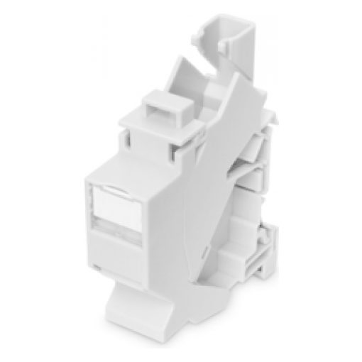 DIGITUS DIN rail adapter for Keystone modules, IP20