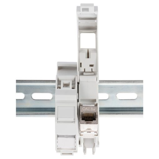 DIGITUS DIN rail adapter for Keystone modules, IP20_3