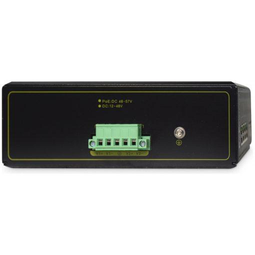 DIGITUS Industrial 4-Port Gigabit PoE Switch, Unmanaged, 2 uplinks_2