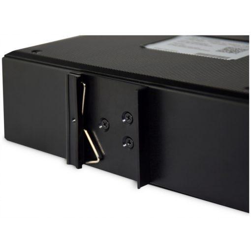 DIGITUS Industrial 8-Port Gigabit PoE Switch, Unmanaged, 2 uplinks_1