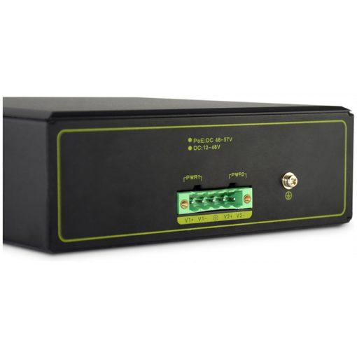 DIGITUS Industrial 8-Port Gigabit PoE Switch, Unmanaged, 2 uplinks_2