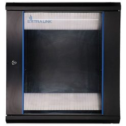 EXTRALINK 12U 600X450 RACK CABINET BLACK ѕиден кабинет